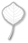 **SALE* Poppystamps - Aspen Leaf