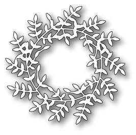 **SALE*  Poppystamps - Freida Wreath
