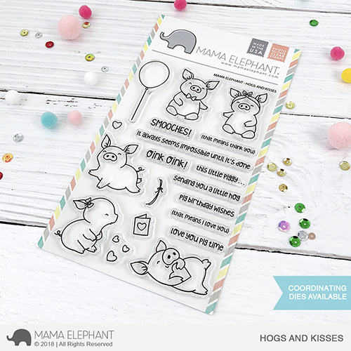 *NEW* - Mama Elephant - HOGS AND KISSES