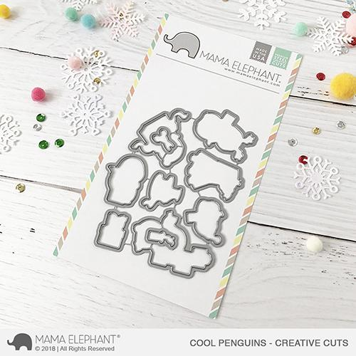 *NEW* - Mama Elephant - Cool Penguins - Creative Cuts