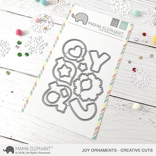 *NEW* - Mama Elephant - Joy Ornaments - Creative Cuts