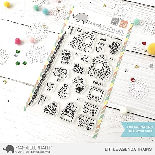 *NEW* - Mama Elephant - LITTLE AGENDA TRAINS