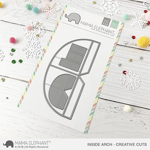 *NEW* - Mama Elephant - Inside Arch - Creative Cuts