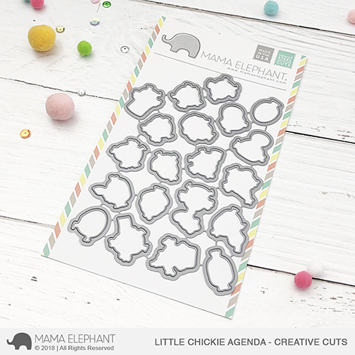 *PRE-ORDER* - Mama Elephant - Little Chickie Agenda - Creative Cuts