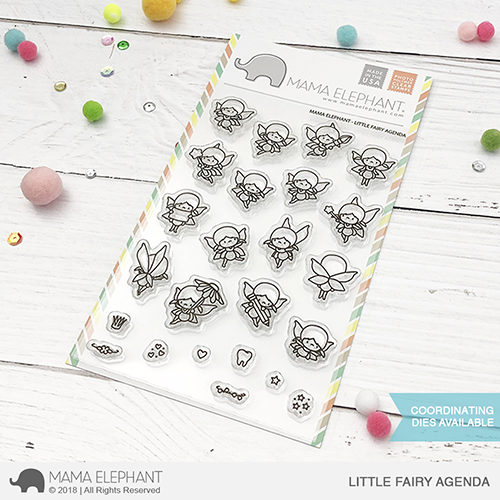 *PRE-ORDER* - Mama Elephant - LITTLE FAIRY AGENDA