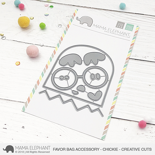 *PRE-ORDER* - Mama Elephant - Favor Bag Accessory - Chickie - Creative Cuts