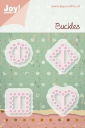 *NEW* Joy! Crafts Cutting & Embossing Stencil - Buckles