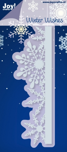 Joy! Crafts - Winter Wishes - Ice Crystals Border