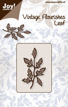 Joy! Crafts -  Vintage Flourishes - Leaf