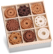cArt-Us - Felt ornament box - fantasy circles