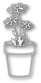 Memory Box - Fancy Potted Flower