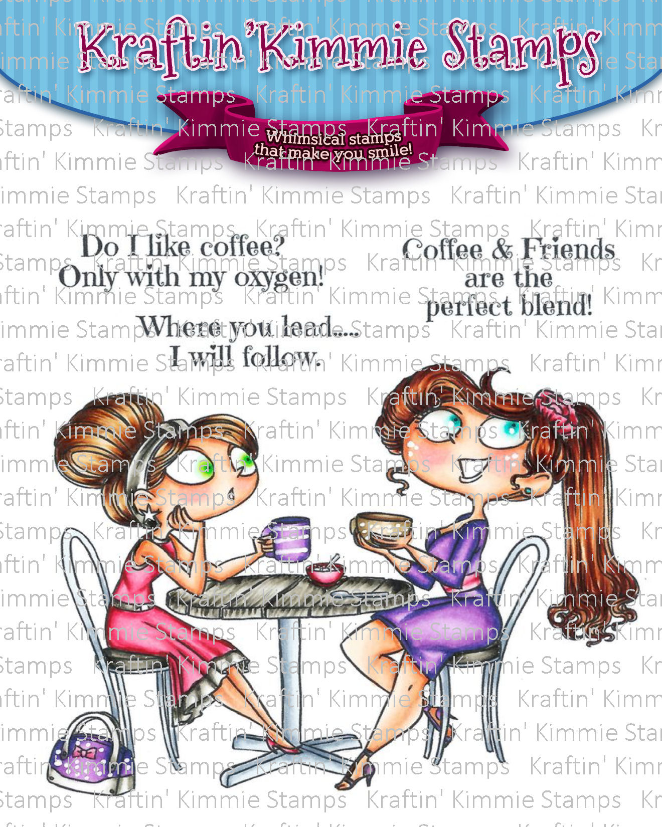 *NEW* - Kraftin' Kimmie - Coffee & Friends