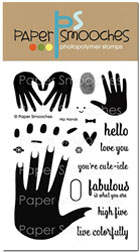 Paper Smooches - STAMPS - Hip Hands
