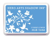 Hero Arts Shadow Ink - Cornflower Mid Tone
