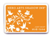 Hero Arts Shadow Ink - Just Rust Mid Tone