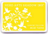 Hero Arts Shadow Ink - Lemon Yellow Mid Tone