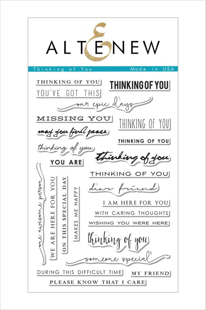 Altenew - Thinking of You Stamp Set