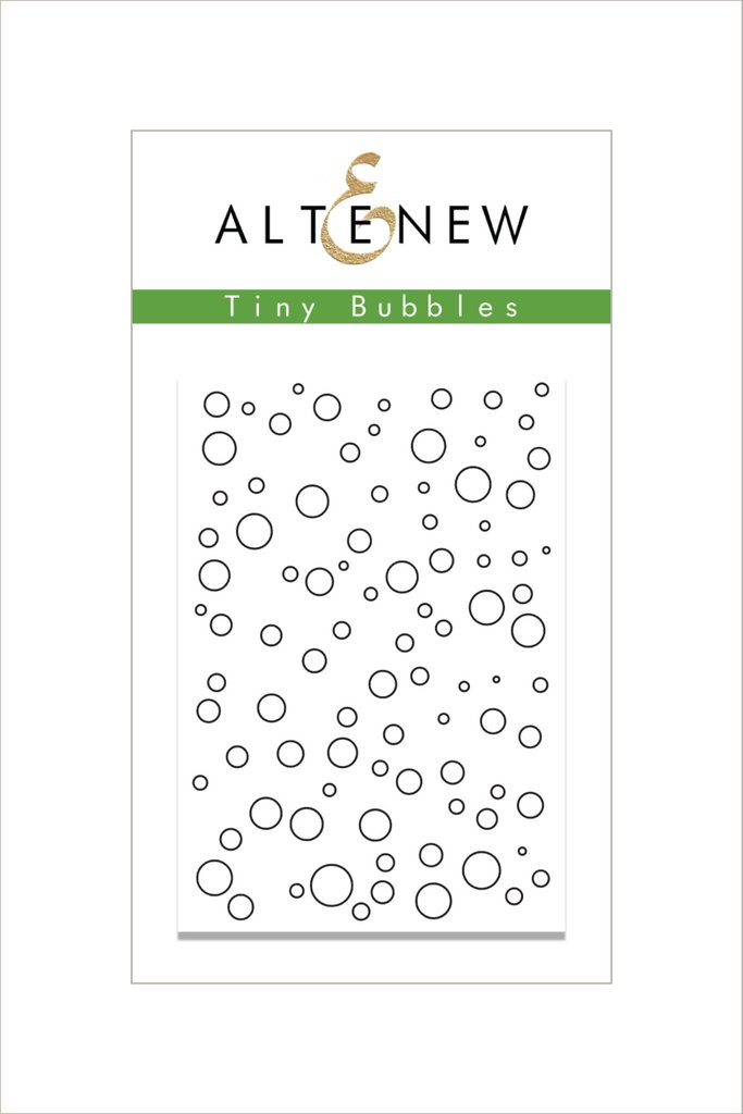 Altenew - Tiny Bubbles Stamp Set