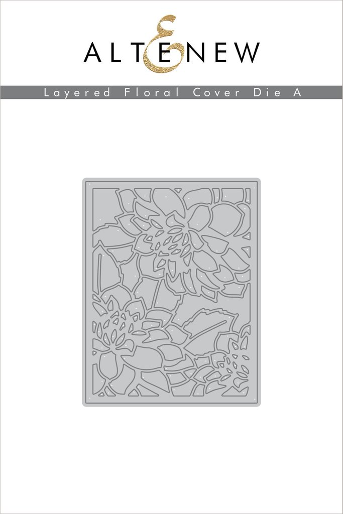 *PRE-ORDER* - Altenew - Layered Floral Cover Die A