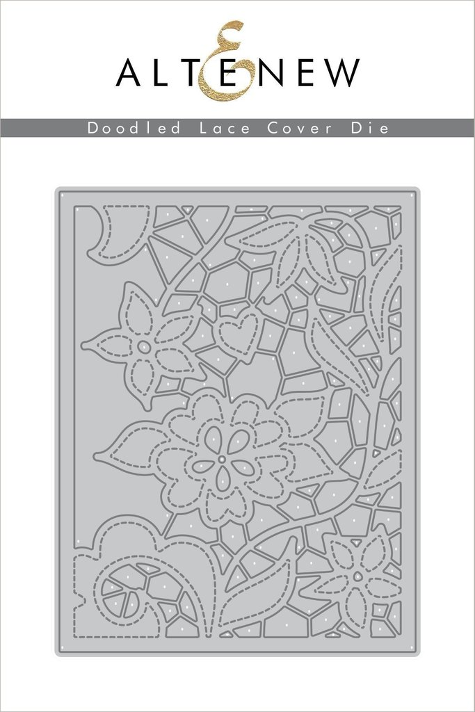 Altenew - Doodled Lace Cover Die