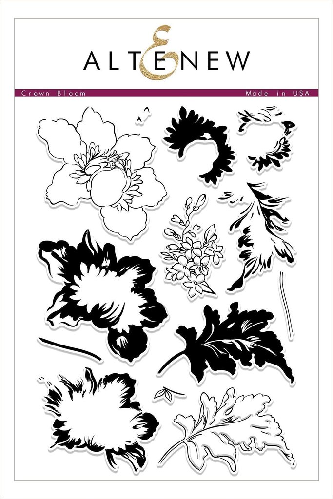 *NEW* - Altenew - Crown Bloom Stamp Set