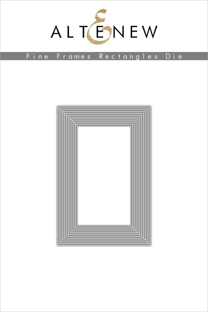 *NEW* - Altenew - Fine Frames Rectangles Die