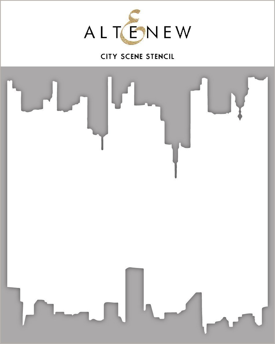 *NEW* - Altenew - City Scene Stencil