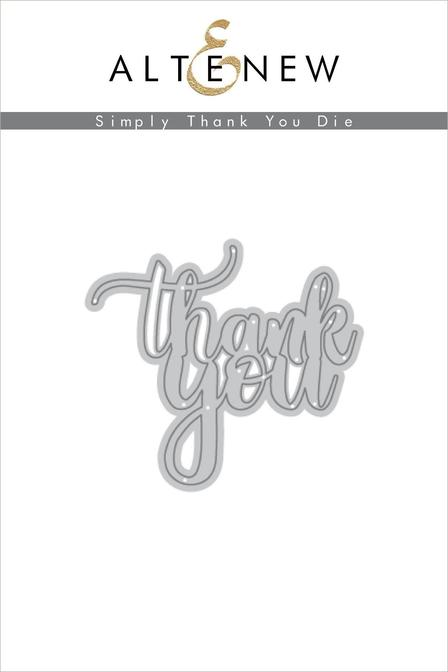 Altenew - Simply Thank You Die