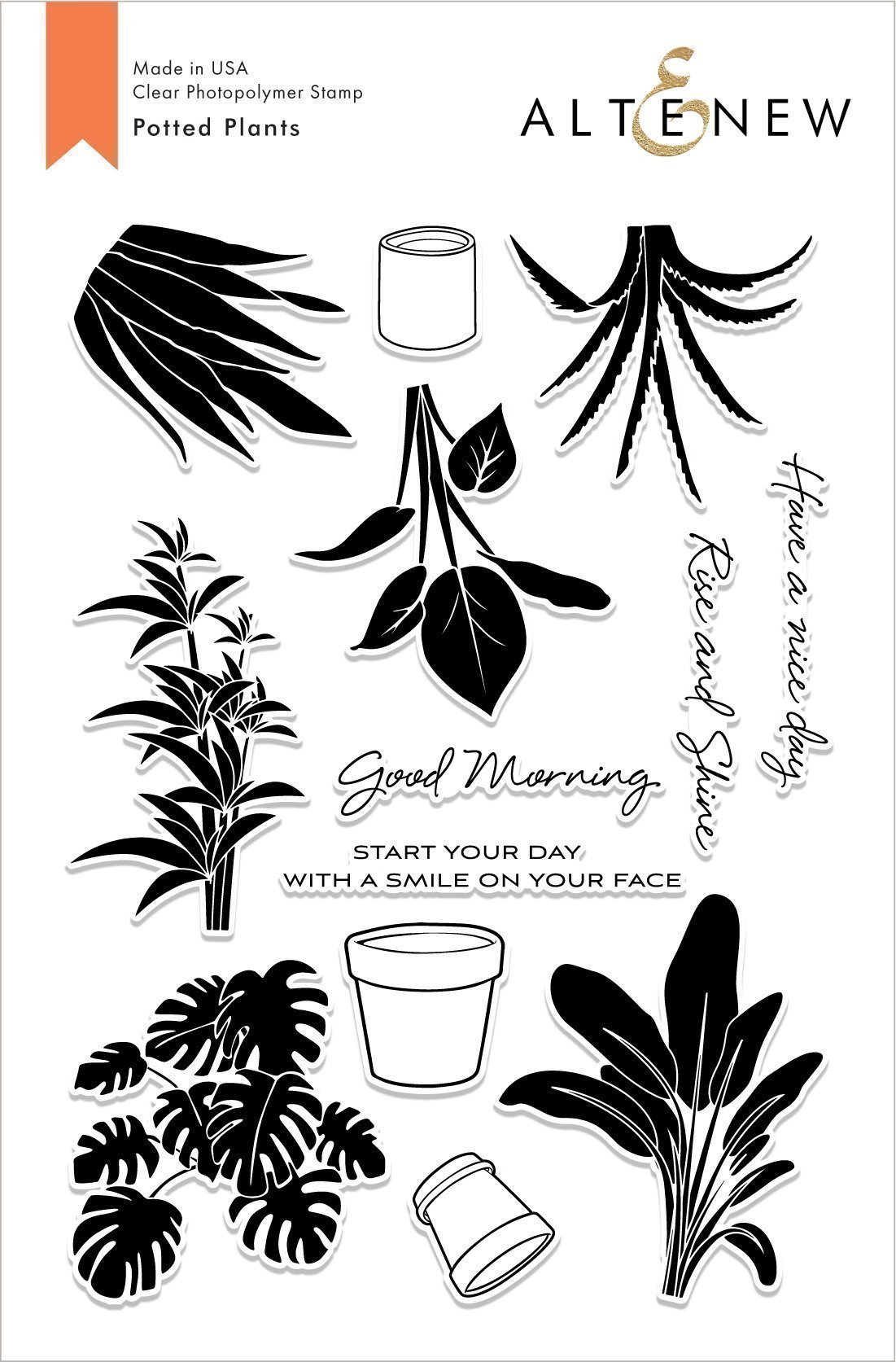 *NEW* - Altenew - Potted Plants Stamp Set