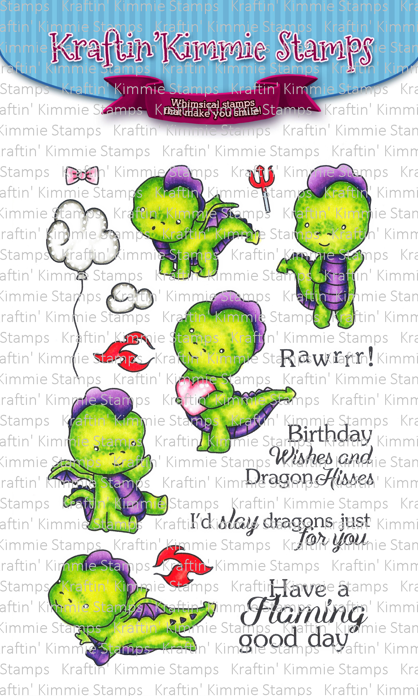 *NEW* - Kraftin' Kimmie - Darling Dragons