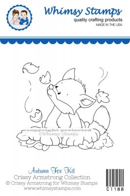 Whimsy Stamps - Autumn Fox Kit - Crissy Armstrong Collection