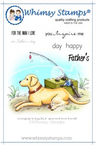 Whimsy Stamps - A Man's Best Friend - Crissy Armstrong Collection