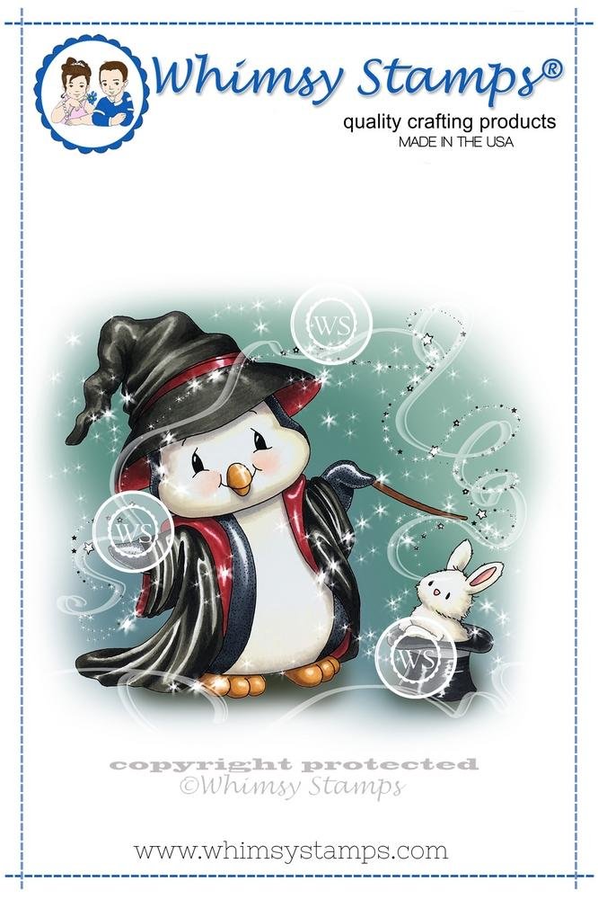 *NEW* - Whimsy Stamps - Penguin Magic