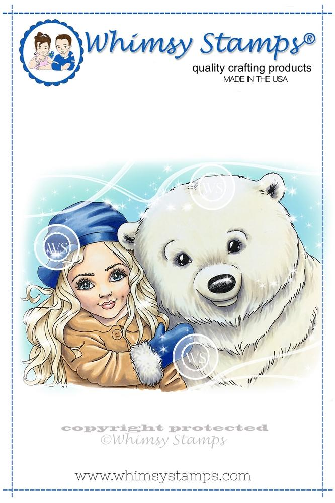 *NEW* - Whimsy Stamps - Polar Friends
