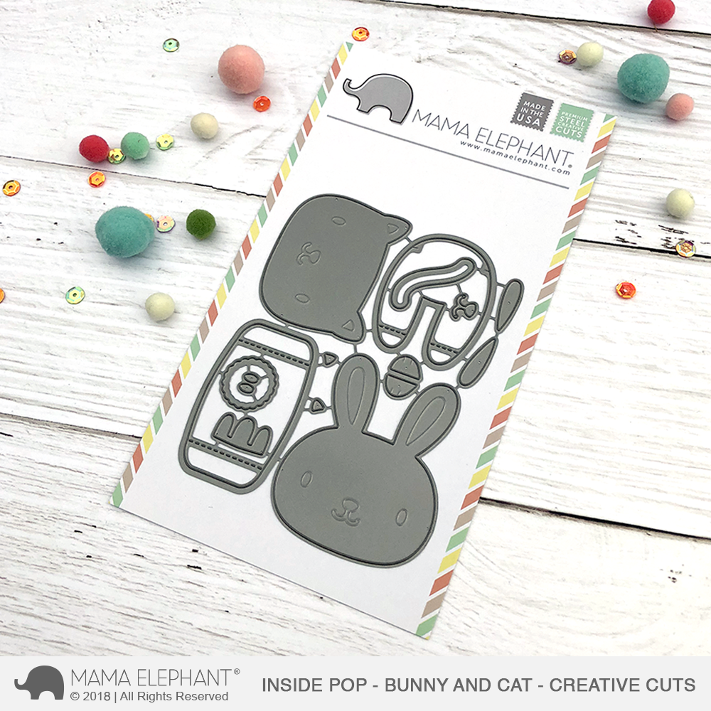 *NEW* - Mama Elephant - Inside Pop - Bunny and Cat - Creative Cuts