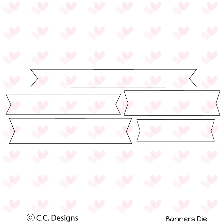 *NEW* - CC Designs - Banners Accessories Metal Die