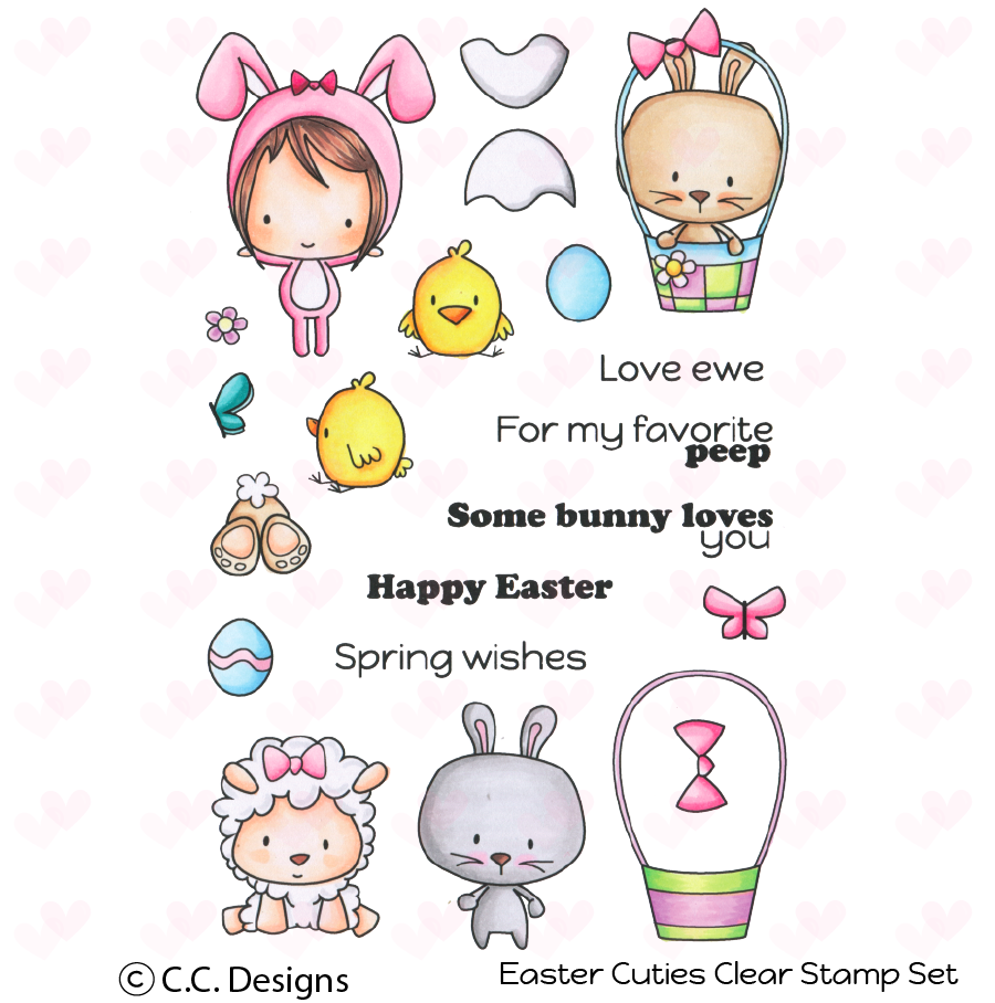 *NEW* - CC Designs - Easter Cuties Stamp Set