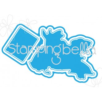 *SALE* Stamping Bella - Gardening Chicks Cut it out die
