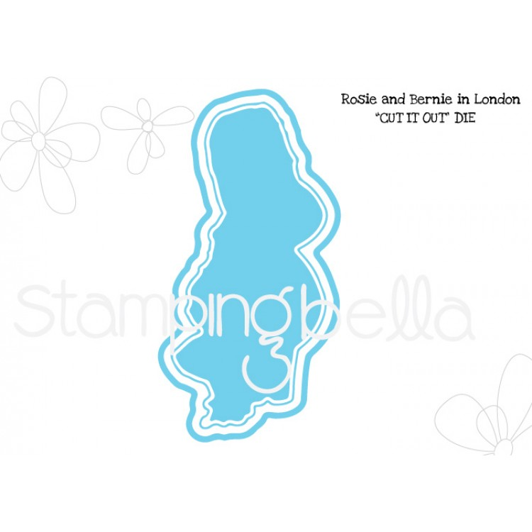*PRE-ORDER - Stamping Bella - Rosie and Bernie in London CUT IT OUT DIE