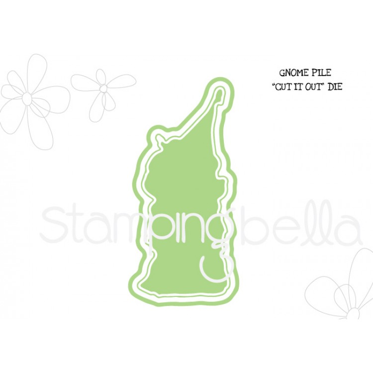 *PRE-ORDER - Stamping Bella - Gnome pile CUT IT OUT DIE