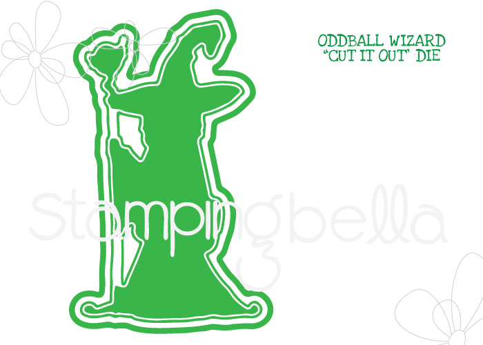 *NEW* - Stamping Bella - ODDBALL WIZARD CUT IT OUT DIE