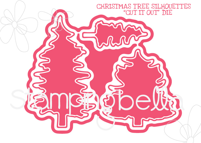 *NEW* - Stamping Bella - TREE SILHOUETTES CUT IT OUT DIE
