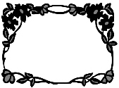 Marianne Design Craftables - Flower Border Rectangle