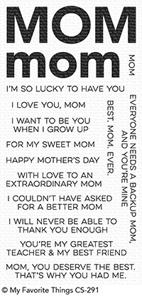 My Favorite Things - All About Mom