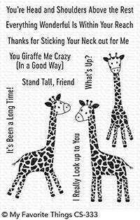 *NEW* - My Favorite Things - Playful Giraffes