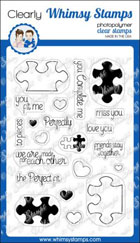 Whimsy Stamps - You Complete Me - Clear Stamps