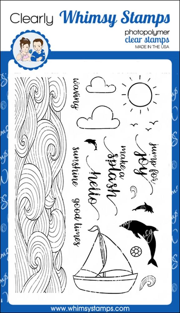 *NEW* - Whimsy Stamps - Splash