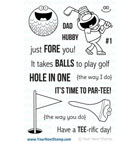 Your Next Stamp- Tee Time