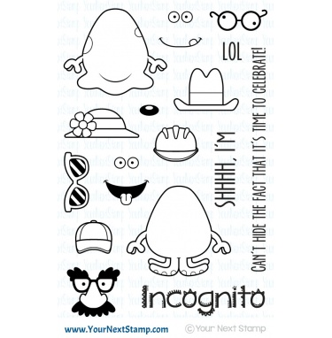 Your Next Stamp- Silly Monsters Incognito One