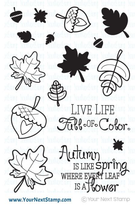 Your Next Stamp - Fall of Color